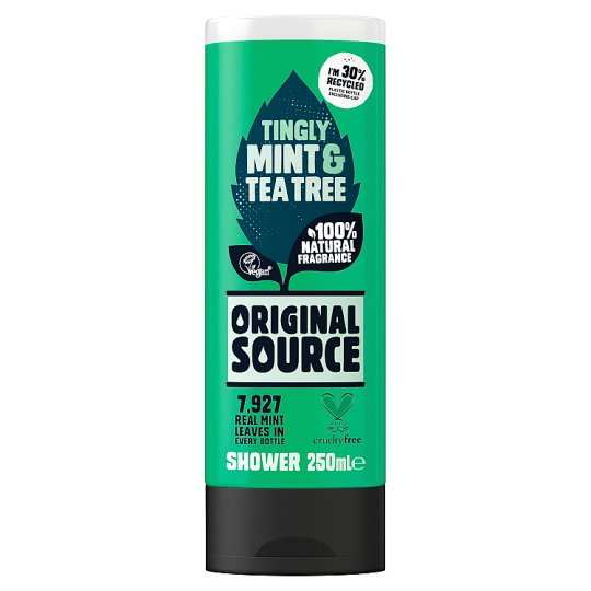 Mint shower gel