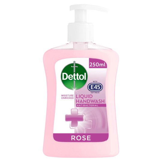 Dettol With E45 Handwash Lotus Flower 250Ml
