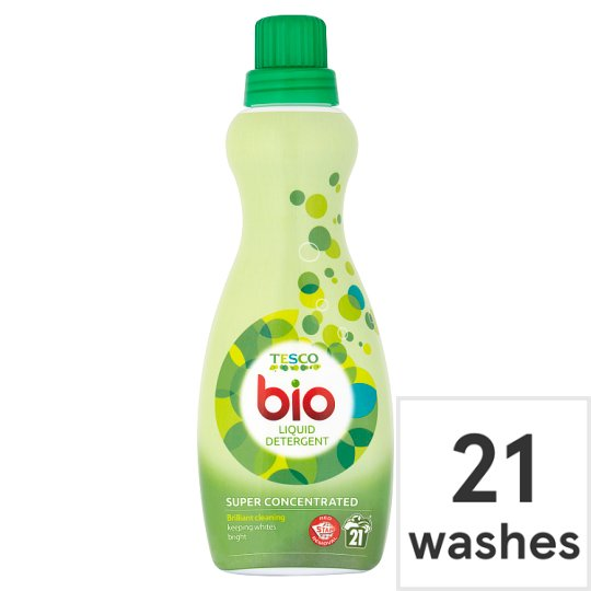 Tesco Super Concentrated Biological Liquid 630Ml