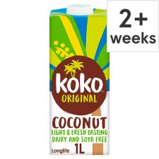 Koko Dairy Free Original Plus Calcium Longlife Drink 1L