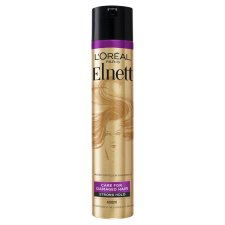 L'oreal Elnett Precious Arg/Oil Hair Spray 400Ml