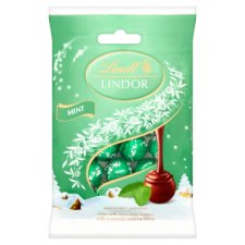 image 1 of Lindt Lindor Mint Mini Truffles 100G