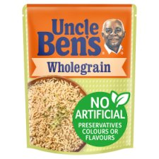 Uncle Bens Microwave Wholegrain Rice 250G