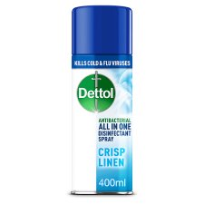 Dettol Aerosol Disinfectant Spray Linen 400Ml