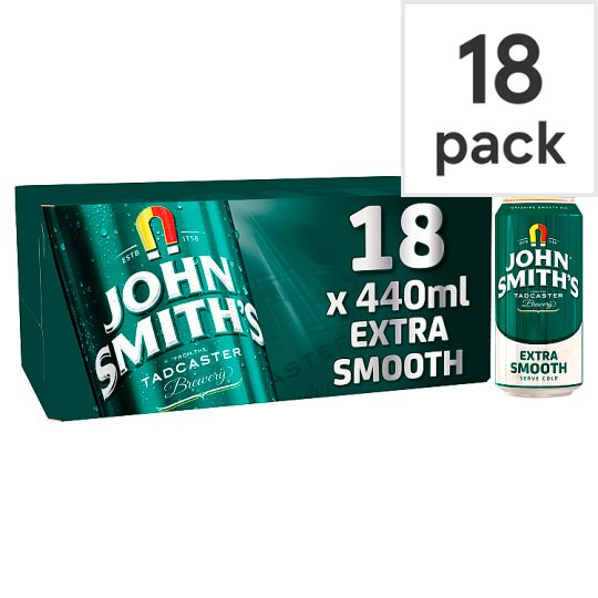 John Smiths Extra Smooth 18X440ml Cans