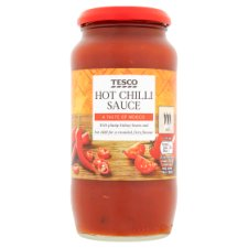 Tesco Hot Chilli Sauce 500G