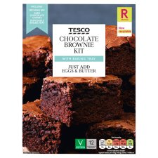 Tesco Chocolate Brownie Mix Kit 285G