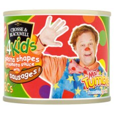 Crosse And Blackwell 4Kids Mr Tumble Pasta With Sausages 213G