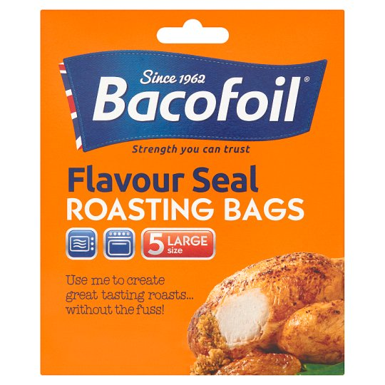 Bacofoil Large Oven Bags Easy Roast 5 Pack