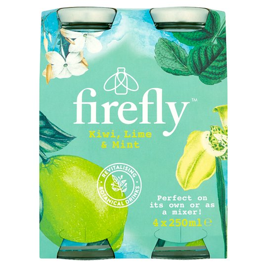 image 1 of Firefly Kiwi Lime Mint 4 X 250Ml