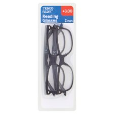 Tesco Reading Glasses Twin Pack 3.0