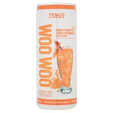 Tesco Woo Woo Cocktail 250Ml