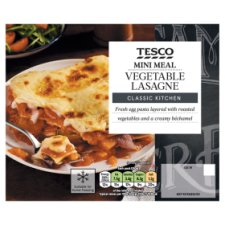 Tesco Vegetable Lasagne 250G