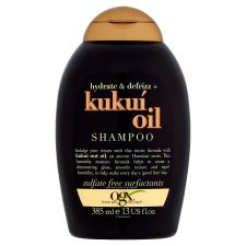 Ogx Kukui Oil Defrizz Shampoo 385 Ml