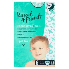 Rascal And Friends Essential Size 6 Nappies 33Pk