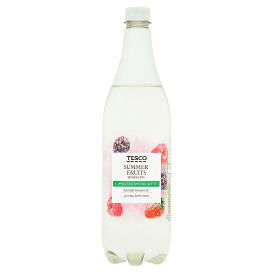 Tesco Sparkling Water Hint Of Summer Fruits 1 Litre