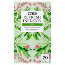 Tesco Refresh Infusion 20 Tea Bags 40G