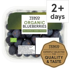 Tesco Organic Blueberries 150G