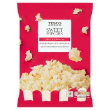 Tesco Sweet Popcorn 110 G