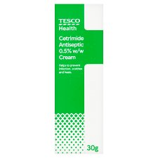 Tesco Cetrimide Antiseptic Cream 0.5% 30G