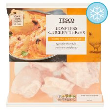 Tesco Boneless Chicken Thighs 500G