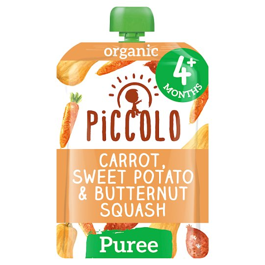 Piccolo Organic Carrot Squash And Sweet Potato Baby Food 100G