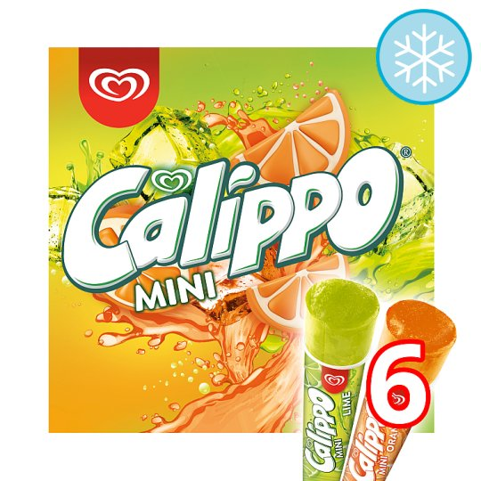 Calippo Mini Ice Lolly 6 X 80Ml