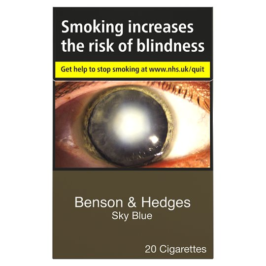 Benson And Hedges Sky Blue King Size 20 Pack