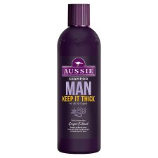 Aussie Man Keep It Thick Shampoo 300Ml