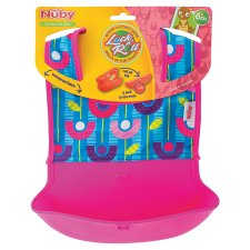 Nuby Lock And Roll Bib