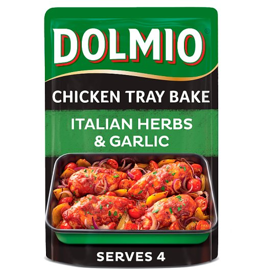 Dolmio Chicken Tray Bake Italian Garlic And Herb 150G