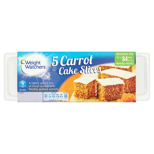 Weight Watchers Carrot Slices 5 Pack