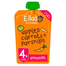 Ella's Kitchen Carrots Apples Plus Parsnips 120G
