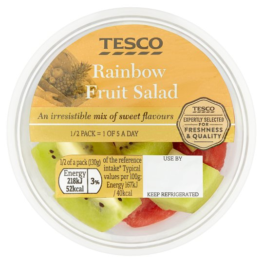 Tesco Rainbow Fruit Salad 260G