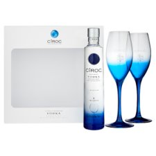 image 2 of Ciroc Vodka 20Cl And 2 Glasses Gift Pack