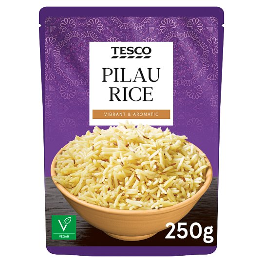 tesco microwave pilau rice 250g tesco groceries
