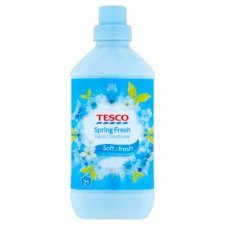 Tesco Fabric Conditioner Spring Fresh 630Ml 21 Washes