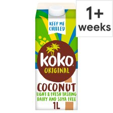 Koko Dairy Free Original Plus Calcium Drink Alternative 1 L