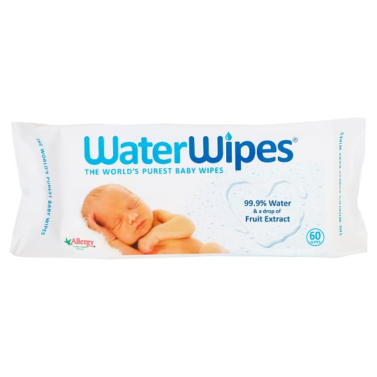 Waterwipes Sensitive Baby Wipes 60 Pack Groceries