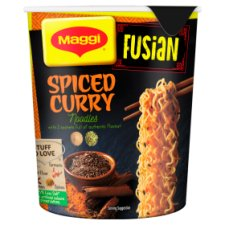 Maggi Fusian Noodles Spiced Curry Pot 64G