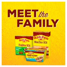 image 3 of Old El Paso Beef And Bean Chilli Burrito Kit 620G