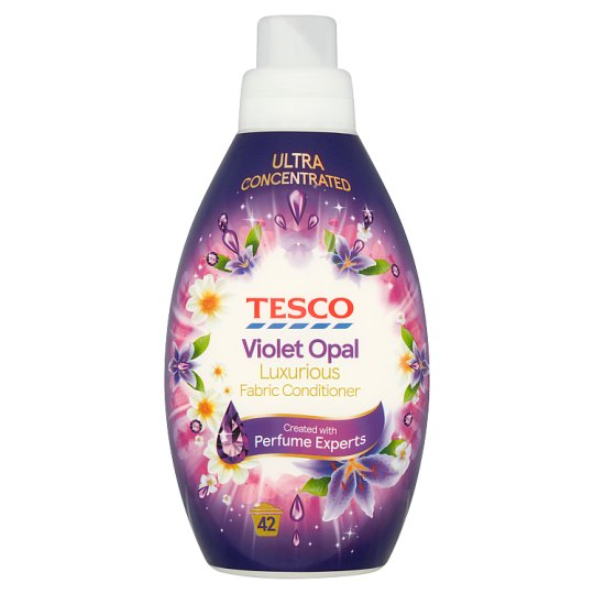 Tesco Ambience Fabric Conditioner Violet 42 Washes 840Ml