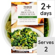 Tesco Minty Green Vegetables 250G