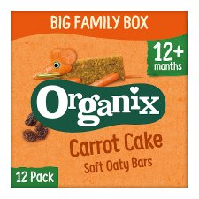 Organix Goodies Carrot Cake Bars 12X30g