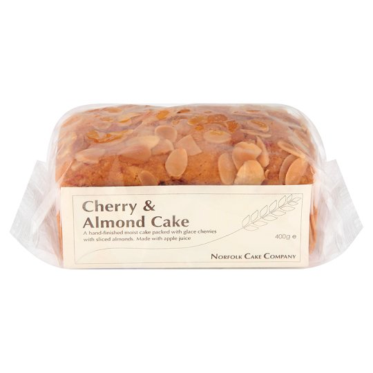 Norfolk Cake Co. Cherry And Almond Cake