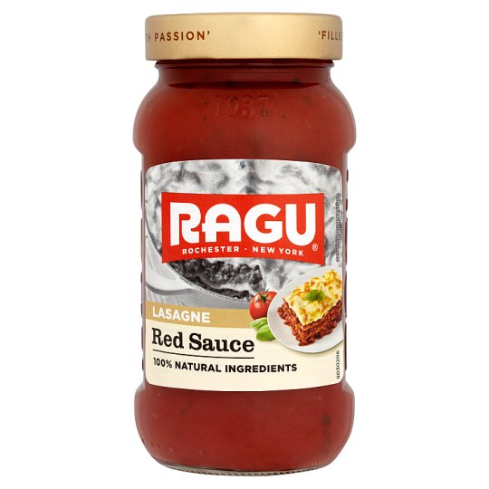 Ragu Red Sauce For Lasagne 454G