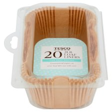 Tesco 2Lb Brown Loaf Liners 20 Pack