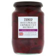 Tesco Crinklecut Beetroot Sweet Vinegar 710G