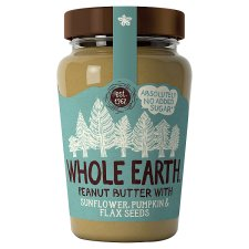 Whole Earth Mixed Seeds Peanut Butter 340G