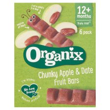 Organix Goodies Apple And Date 6 X 17G